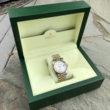 Rolex Datejust 116233 Two Tone Steel Gold Roman MOP Automatic Wristwatch - Hashtag Watch Company