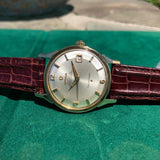 Vintage Omega Constellation 168.005 Chronometer Cal. 561 Automatic Gold Top Steel Wristwatch Circa 1966