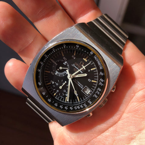 Vintage Omega Speedmaster 125 378.0801 Steel Automatic Chronograph Wristwatch
