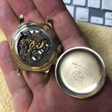 Vintage Longines Lindbergh Hour Angle 10K Gold Filled Cal. 10L Wristwatch LNOS - Hashtag Watch Company