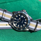 Tudor Submariner 79090 Blue Oysterdate Prince Stainless Steel Wristwatch Circa 1993