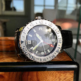 Blancpain Fifty Fathoms GMT Trilogy Edition Air Command 2250 Automatic Wristwatch Box Papers - Hashtag Watch Company