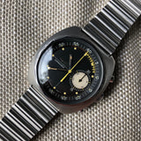 Vintage Longines Nonius 8225 Steel Chronograph 30CH Manual Wind Wristwatch Circa 1968 - Hashtag Watch Company