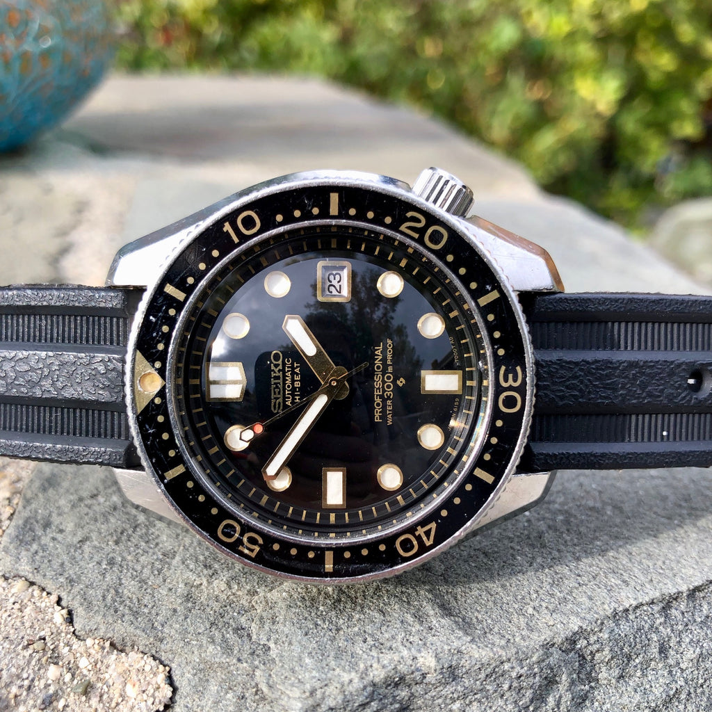 Vintage Seiko Professional 6159-7001 Diver 300 Hi-Beat Steel Automatic 44mm Wristwatch