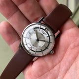 Vintage Longines 2579 Stainless Steel Caliber 341 Automatic 35mm Wristwatch - Hashtag Watch Company