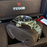 Tudor Black Bay 79500 Stainless Steel 36 Black Dial Automatic Wristwatch Box Papers Circa 2016 - Hashtag Watch Company