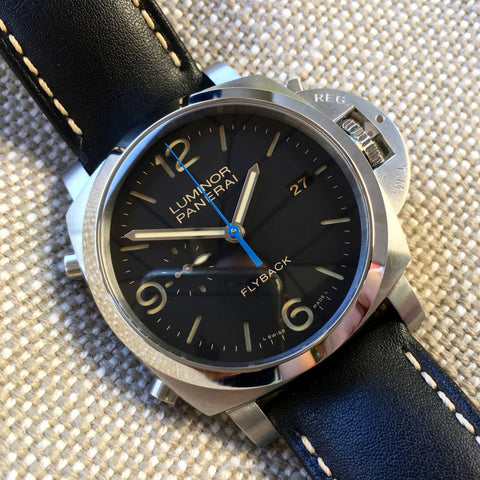 Panerai Luminor Flyback PAM 524 1950 3 Days Chronograph Automatic Watch