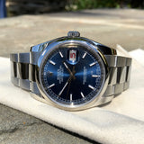 Rolex Datejust 116200 Blue Stick 36mm Oyster Stainless Steel Wristwatch
