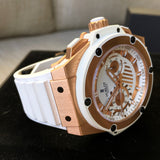 Hublot King Power Foudroyante 715.OE.2118.RW 18K Rose Gold Chronograph Watch