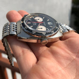 1972 Vintage Heuer Autavia 1163 Viceroy Steel Chronograph Cal. 12 Automatic Wristwatch