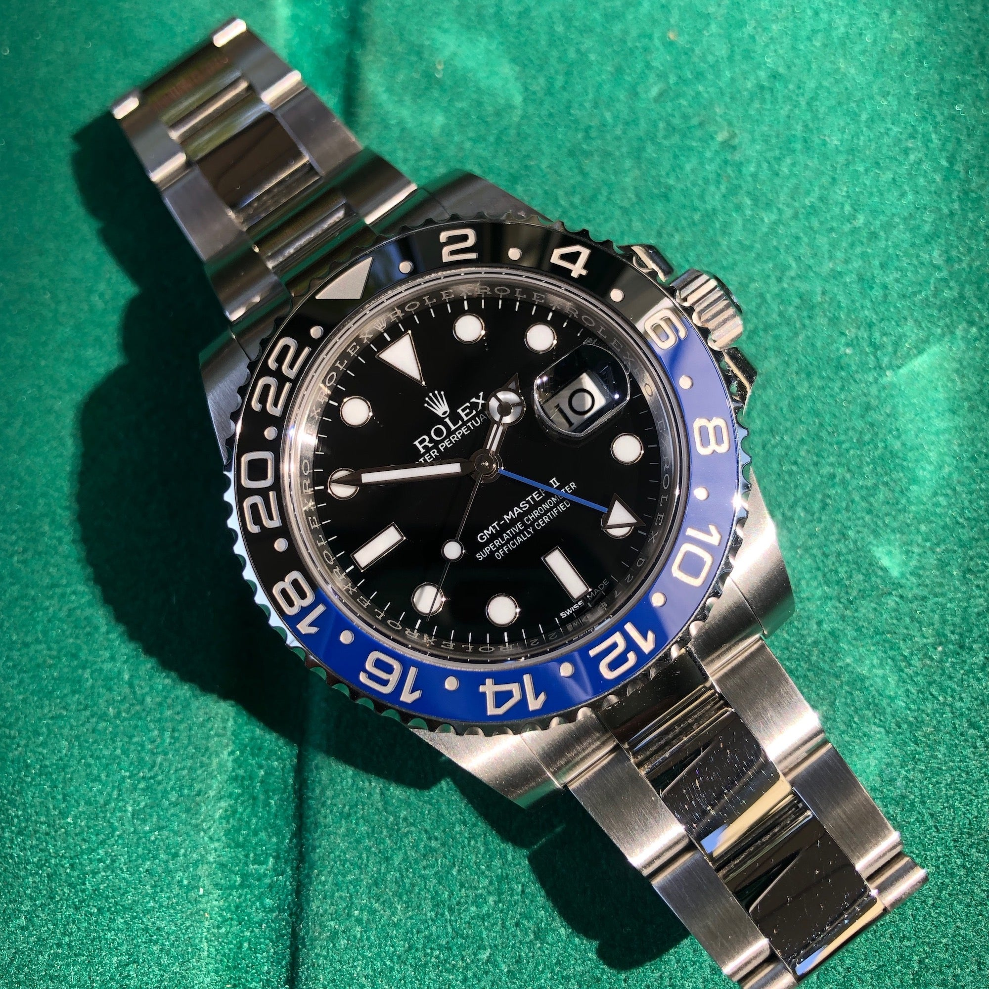Rolex GMT Master II 116710 BLNR Batman Ceramic Steel Automatic Wristwatch Box Papers - Hashtag Watch Company