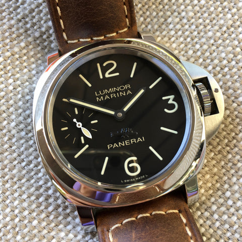 Panerai Luminor Marina Aspen Limited Edition PAM 467 Stainless Steel Watch Box Papers