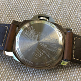 Panerai Luminor Marina Aspen Limited Edition PAM 467 Stainless Steel Watch Box Papers - Hashtag Watch Company