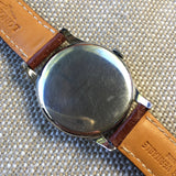 Vintage Longines 5561-8 Oversized 37mm Steel Cal. 27m Wristwatch 1950's