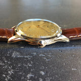Vintage Longines 6333-3 Oversized 37mm Steel Cal. 12.68z Wristwatch 1950's - Hashtag Watch Company