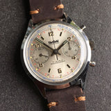 Vintage Sheffield 351-210 Waterproof Chronograph Venus 210 Manual Wind Wristwatch - Hashtag Watch Company