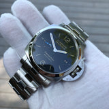 Panerai Luminor Marina 1950 PAM 722 Automatic Stainless Steel 42mm Wristwatch Box Papers - Hashtag Watch Company