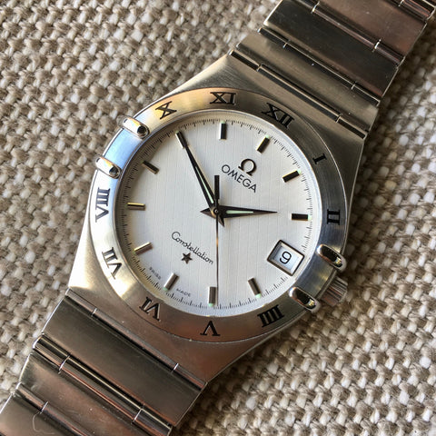Omega Constellation 1512.30 Steel Quartz 33.5mm Wristwatch