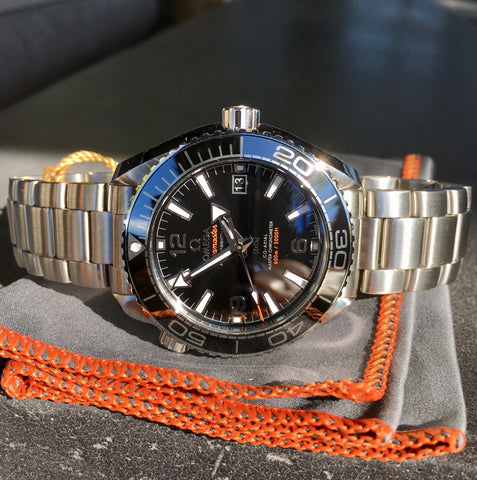 Omega Seamaster 215.30.40.20.01.001 Planet Ocean 600M Automatic Watch