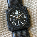 Bell & Ross BR01-94 Carbon Fiber Automatic Chronograph Limited Edition Wristwatch