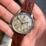 Vintage Benrus Sky Chief Chronograph Valjoux 71 Stainless Steel Wristwatch