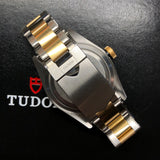 2020 Tudor Heritage Black 79733N Bay Two Tone Steel Gold Automatic 41mm Men's Wristwatch - Hashtag Watch Company