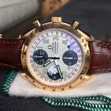 Omega Speedmaster 3623.33.01 18K Rose Gold Chronograph Month Day Date Watch