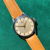 Vintage Omega 2179 Stainless Steel Sector Dial Cal. 30T2 Manual Wristwatch Circa 1940's
