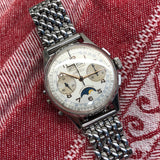 Vintage Angelus Chrono-Datoluxe Moonphase Day Date Chronograph Wristwatch - Hashtag Watch Company