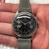 Vintage Gotham Gothameter Stainless Steel Chronograph Valjoux 92 Manual Wristwatch - Hashtag Watch Company