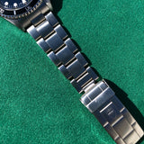Tudor Submariner 79090 Blue Oysterdate Prince Stainless Steel Wristwatch Circa 1993 - Hashtag Watch Company