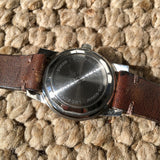Vintage Longines All-Guard Automatic 9006-2 Gilt Black Cal. 19AS Steel Wristwatch - Hashtag Watch Company
