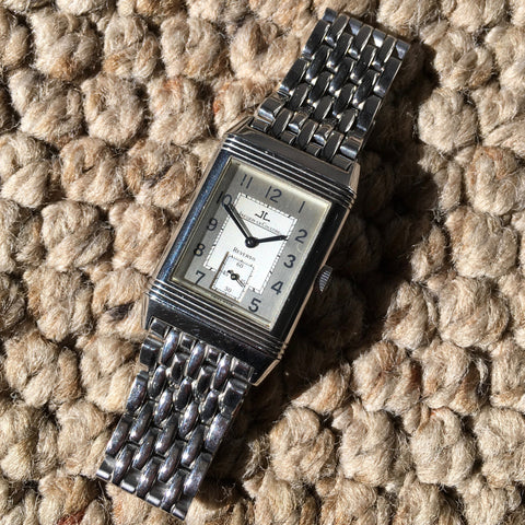 Jaeger LeCoultre Reverso Grande Taille 270.8.62 Steel Manual Wind Wristwatch