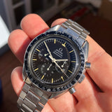 1969 Vintage Omega Speedmaster 145.022 ST Steel Cal. 861 Chronograph Pre Moon Wristwatch - Hashtag Watch Company