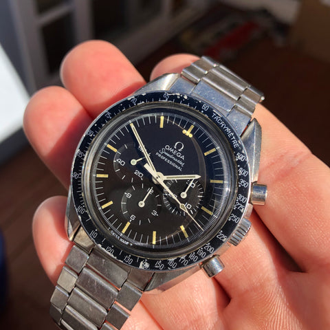 1969 Vintage Omega Speedmaster 145.022 ST Steel Cal. 861 Chronograph Pre Moon Wristwatch