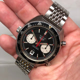 1972 Vintage Heuer Autavia 1163 Viceroy Steel Chronograph Cal. 12 Automatic Wristwatch - Hashtag Watch Company