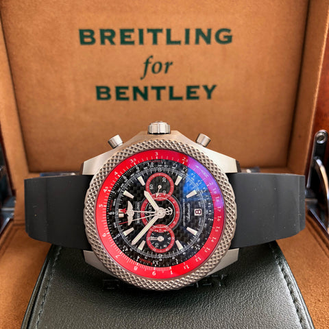 Breitling For Bentley E27365 SuperSport Light Body Titanium Automatic Chronograph Limited Edition Box & Papers