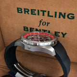 Breitling For Bentley E27365 SuperSport Light Body Titanium Automatic Chronograph Limited Edition Box & Papers - Hashtag Watch Company