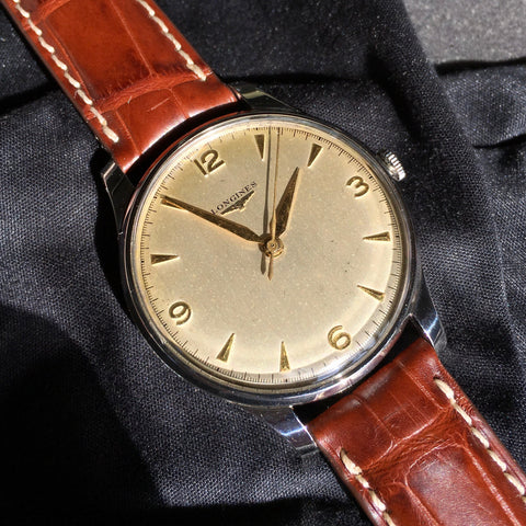 Vintage Longines 5045 Oversized 37mm Center Seconds Cal. 12.68z Wristwatch
