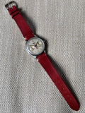Vintage Longines 13ZN Steel Chronograph Center Minutes Recorder Wristwatch 1940's - Hashtag Watch Company
