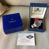 Vintage Tissot Navigator T12 Compressor 788 Automatic 44mm Wristwatch Box Papers - Hashtag Watch Company