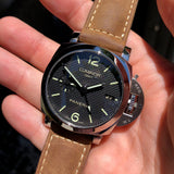 Panerai Luminor 1950 PAM 535 GMT 3 Days Automatic 42mm Wristwatch Box Papers - Hashtag Watch Company