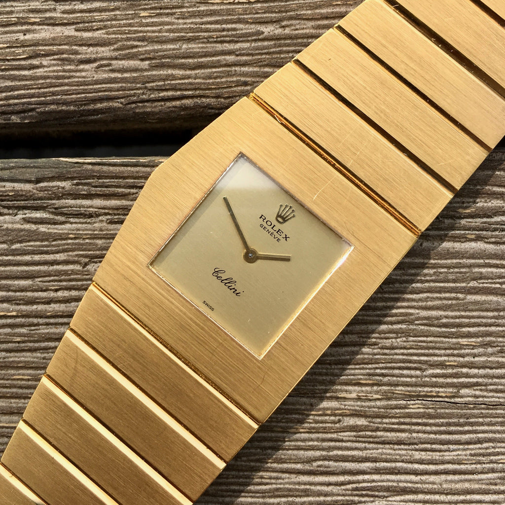 Vintage Rolex Cellini King Midas 4315 18K Yellow Gold Cal. 651 Circa 1975 Wristwatch