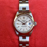 Rolex Date 79160 Silver Tapestry Automatic Stainless Steel Wristwatch Box Papers - Hashtag Watch Company