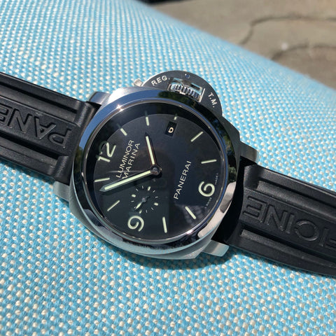 Panerai Luminor Daylight PAM 250 Chronograph Automatic Stainless Steel 44mm Wristwatch