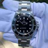 Rolex Submariner 14060 No Date Stainless Steel Wristwatch Box & Papers Circa 2006