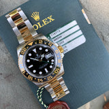 Rolex GMT Master II 116713 Two Tone Steel Gold