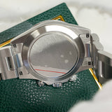 2002 Rolex Daytona Cosmograph 116520 Black Steel Oyster Chronograph Box Papers