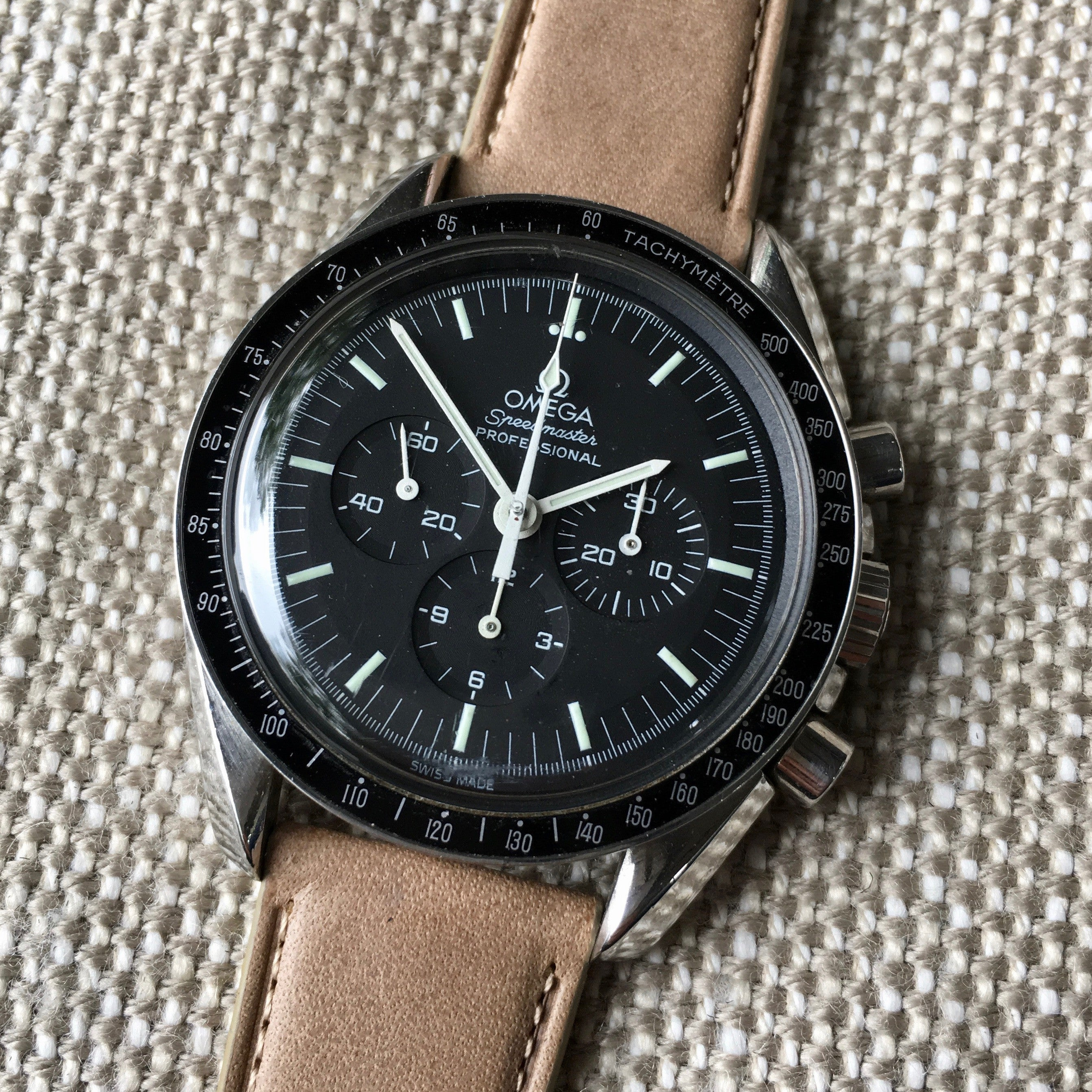 Vintage Omega Speedmaster 145.022 ST Moon Watch Transitional Cal. 861 Circa 1969 Watch - Hashtag Watch Company