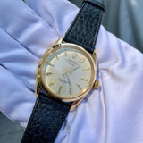 Vintage Rolex Oyster Perpetual 6564 50m = 165ft 18K Yellow Automatic Wristwatch Circa 1954
